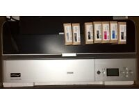 Epson Stylus Pro 3800 Professional Large Format A2 Inkjet Printer and ink cartridges