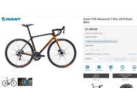 Giant TCR Advanced 1 Disc 2018 Road Bike - Brand New, Bargain