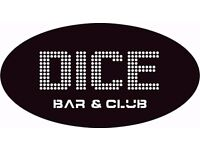 Bar Staff Day and Night Shifts available
