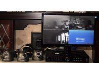 Cop Security Inspire DVR04PV2-500Gb, CCTV System w/ 3 Cameras