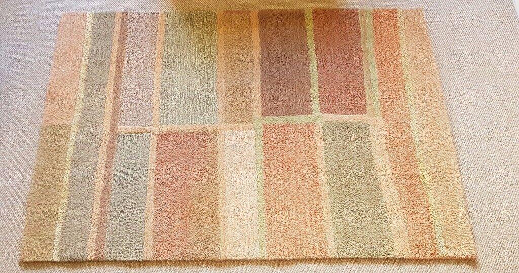 Zeba Hand Tufted Wool Rug Made In India In Giffnock Glasgow