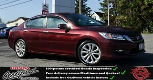2014 Honda ACCORD TOURING Navigation, Leather Interior, One Owne