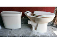 Twyford Cream Toilet and Cistern complete