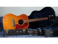 Gibson B25 1965 Acoustic Guitar with hard case Sunburst