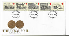 Great Britain First Day Cover. THE ROYAL MAIL. Issued 31st July 1985