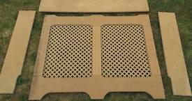 MDF Radiator cabinet