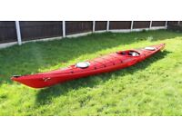 Sea Kayak - Perception Essence 17 in great condition