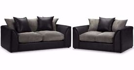 【Brand New】EXPRESS DELIVERY** BRAND NEW BYRON SOFA IN CORNER OR 3+2 ON SPECIAL OFFER