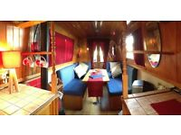 LARGE FURNISHED 2 BED BOAT - IDEAL FOR SHARERS