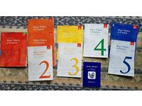 Music Study Books Grade 1 - 5 and Music Theory