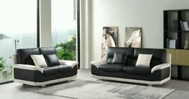 LEATHER SOFA MATRIX ONLY £475 EXCLUSIVE DESIGN