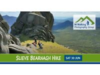 Slieve Bearnagh, Mournes with NI Walking Photography Group