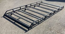 RHINO Roof Rack & Roller - Trafic Vivaro Primastar - V G Condition - 2001-2014 - Includes Fixings