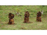 Garden, Rustic, Art, Ornamental Title Character entities of the natural world Artist Vasanti de Art