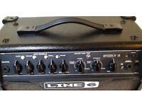 LINE 6 SPIDER IV 15 WATT ELECTRIC GUITAR MODELLING COMBO PRACTICE AMPLIFIER IN GREAT CONDITION