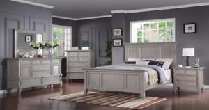 BEDROOM FURNITURE SALES- SOLID WOOD BEDROOM SETS CALL -905-451-8999 (BF-19)