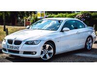 Convertible BMW 3 Series 2.0 Diesel Low Millage (40,00) Hardtop Leather Seats (320d SE Highline 2dr)