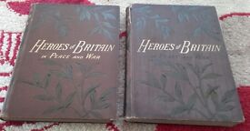 Anique Books (History). Heroes of Britain In Peace And War. Volume 1 & 2.