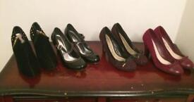 Bundle of women's shoes size 6