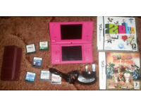 Nintendo DSi Console And 8 Games