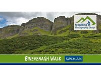 Binevenagh Walk with NI Walking Photography Group. Free to Join