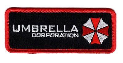 Resident Evil Umbrella Corporation Hook Fastener patch (4.0 x 1.5)