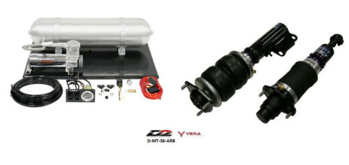 D2 Air Struts + Vera Basic Air Suspension For 2008+ Mitsubishi Lancer Ralliart