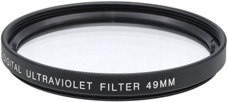 Bower 49mm UV Filter for Canon 50mm 1.8 STM Lens
