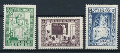 [832] Belgium 1951 good Set very fine MH Stamps