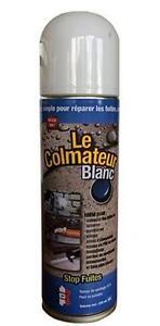 le colmateur blanc spray bitume bouche fissure fuite toiture gouttiere etanche. Black Bedroom Furniture Sets. Home Design Ideas