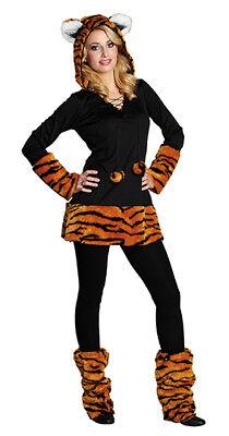 Tiger Tigerkostüm Raubkatze Kostüm für Damen