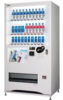 Asian Vending Machine - Hot, cold drinks. Bottle and Can