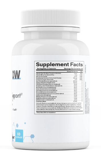 VitalFlow Prostate Support Formula Supplement 60 Capsules  1
