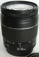 Canon zoom lens EF 28-80 mm 1:3.5-5.6 II
