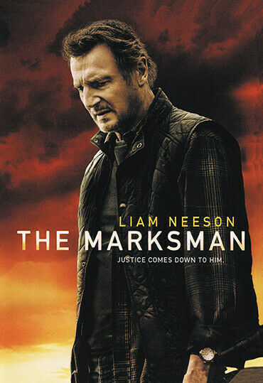 THE MARKSMAN (DVD 2021) ACTION