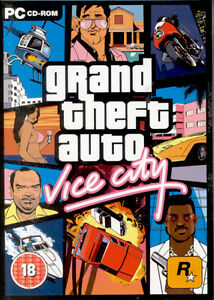 NEW! Grand Theft Auto Vice City for PC SEALED NEW