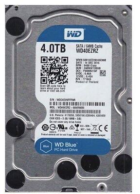 Western Digital Internal HDD Blue WD40EZRZ 4TB 3.5 5400 RPM 64MB *SAME DAY SHIP*