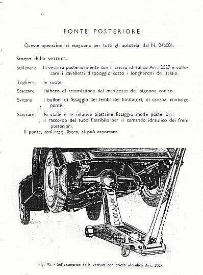 Fiat 500 Topolino A B C Istruzioni Per Le Riparazioni
