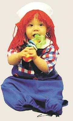 INFANT RAGGEDY ANDY DOLL COSTUME DRESS 0-9MOS 12119 NEW
