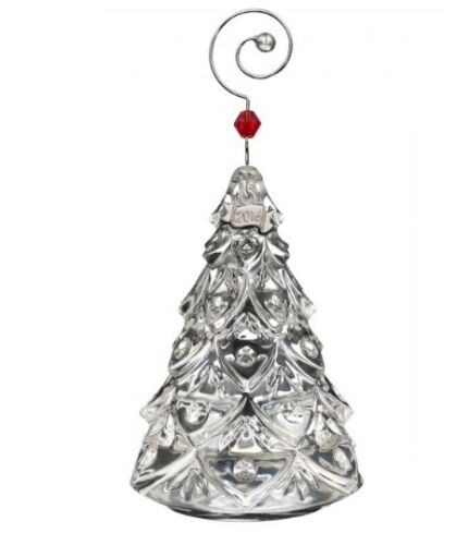 """Waterford 2016 Annual Mini Christmas Tree Ornament - Discontinued - 2.75"""" IN BOX"""
