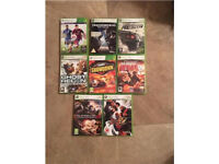 8x XBOX 360 GAMES ALL FOR £10