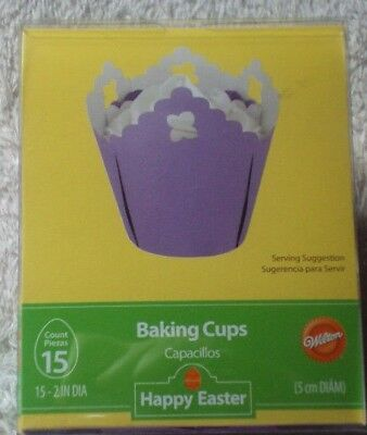 Wilton Lavender Easter Baking Cups Cupcakes Birthday/Party - Lavender Cupcake Liners