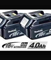 Makita 18 volt 4 AMP battery bran new set of 2