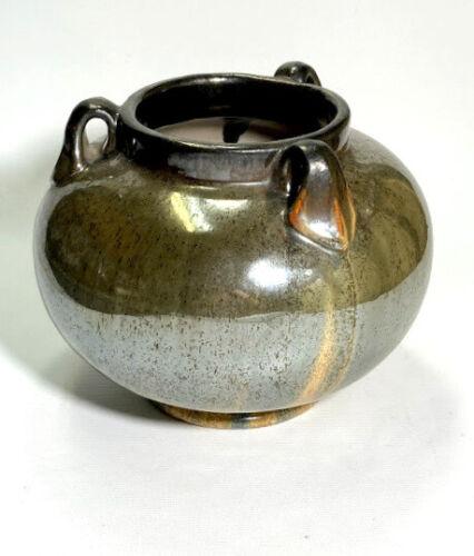 Fulper Platinum Vase