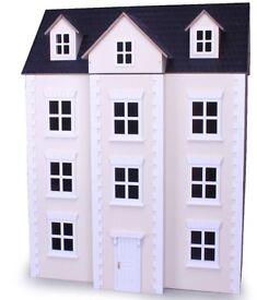 Dolls House - Cream Three Storey - Brand NEW