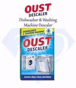 Oust Dishwasher & Washing Machine Deep Cleaning Descaler / Limescale Remover