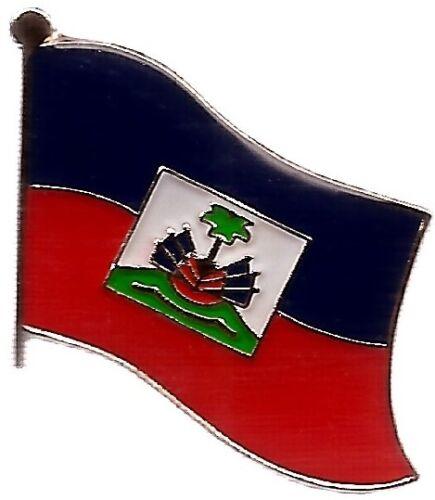 LOT OF 12 Haiti Flag Lapel Pins - Haiti Flag Pin