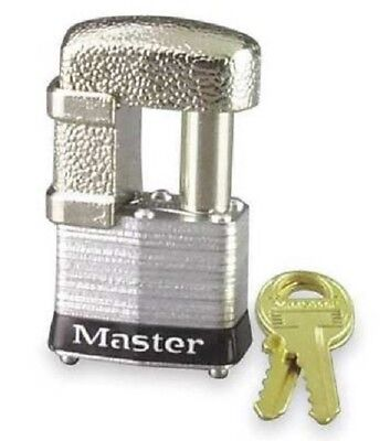 New Master Lock 37ka Shrouded Laminated Steel Pin Tumbler Padlock