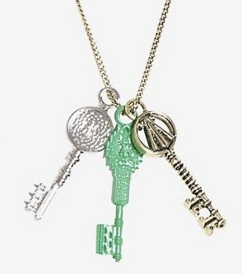 Ready Player One Movie Three Keys Charm Pendant Necklace Fashion Best Gift