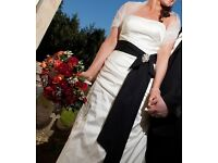 Designer Wedding Dress, size 12